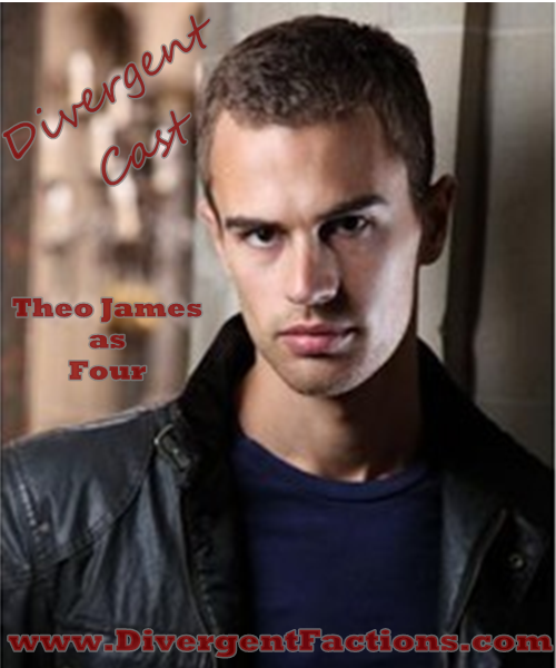 Theo James as Tobias Four Eaton